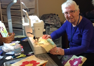 Quilting through Parkinson