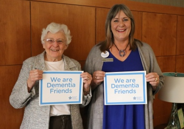 Dementia Friends: changing the way people think, act, and talk about dementia