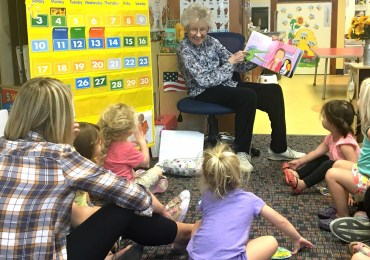 Books come to life when Grandma Judy reads