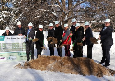 PHS Breaks Ground for redevelopment of Langton Place Transitional Care