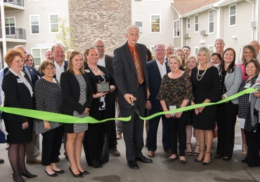 Mill Pond dedicates and celebrates its Grand Re-Opening