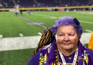 Vikings Betty Scores a Liberty Dream at US Bank Stadium