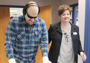 Apple Valley police experience what it's like to have dementia