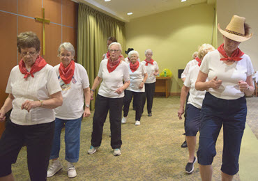 Line dancing at any age