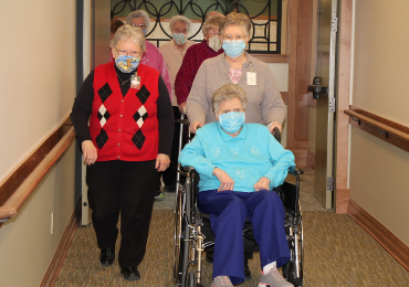 Mount Carmel Bluffs senior living community welcomes BVM Sisters