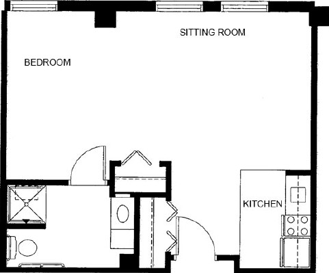 Studio - Studio Floorplan