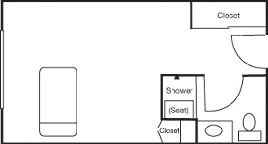 Suite - Studio Floorplan