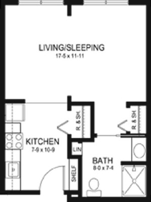 Charlotte Boeckler - Suite Floorplan