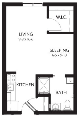 Amnicon - Studio Floorplan