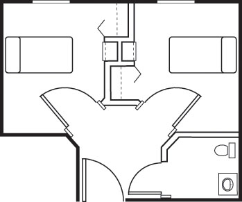 Shared Suite B - Shared Suite Floorplan
