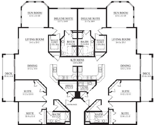 Arbor Ponds Household - Suite Floorplan