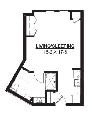 Basket - Studio Floorplan