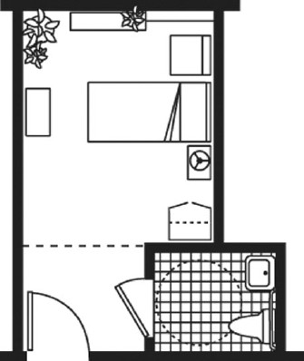 Private Room - Private Room Floorplan